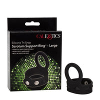 Calexotics Silicone Tri-Snap Cock Ring Large