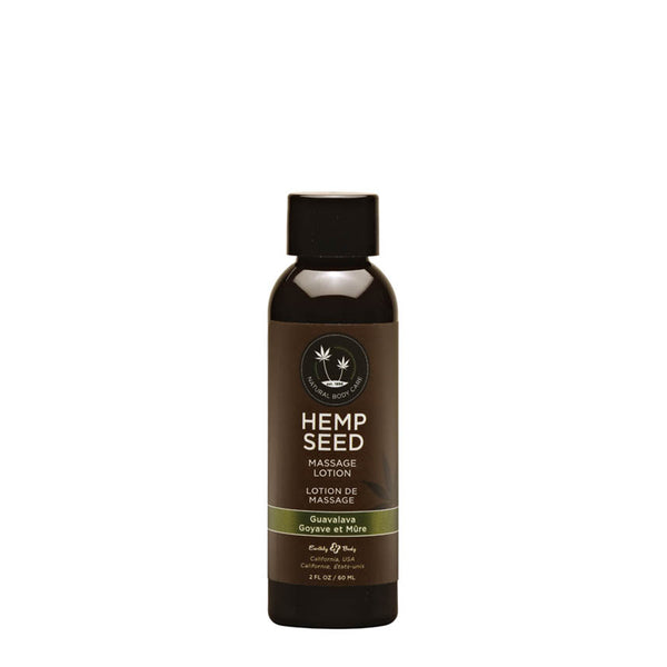 Earthly Body Hemp Seed Massage Oil Guavalava 59ml