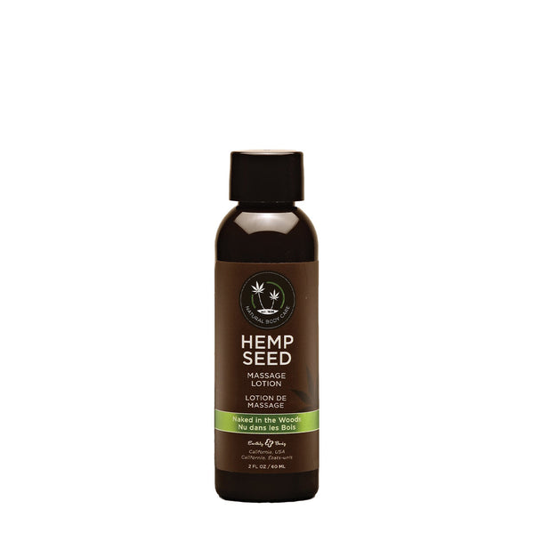 Earthly Body Hemp Seed Massage Oil Naked In The Woods 59ml