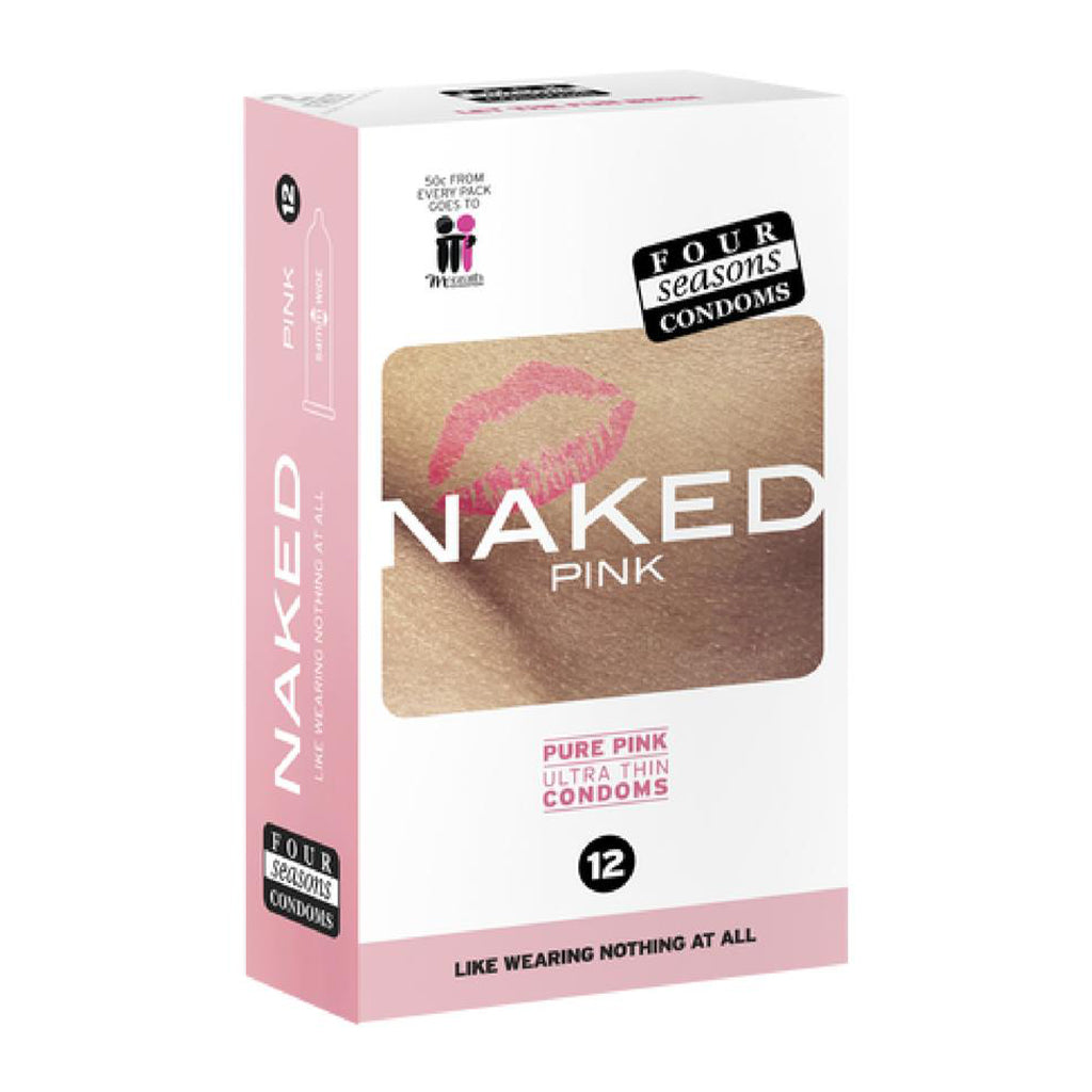 Four Seasons 12s Naked Pink Condoms