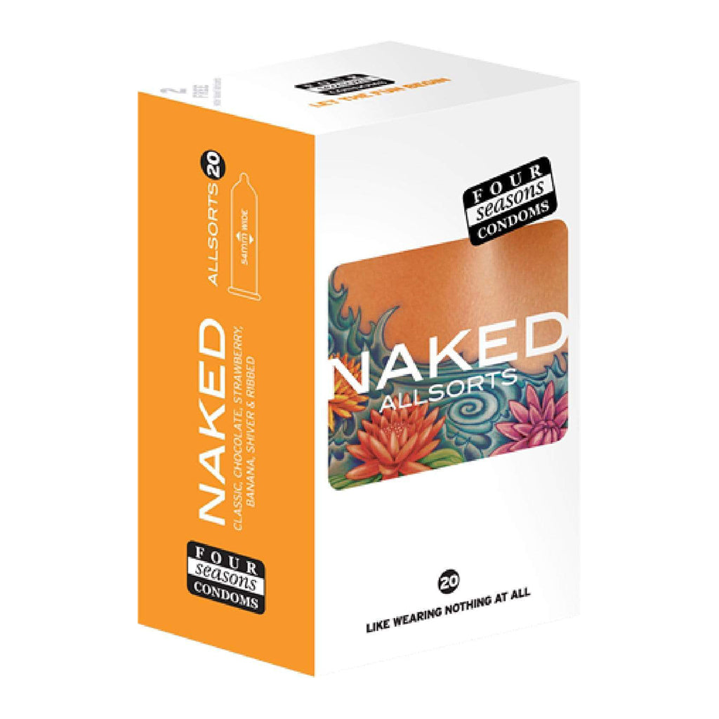 Four Seasons 20s Naked All Sorts Condoms
