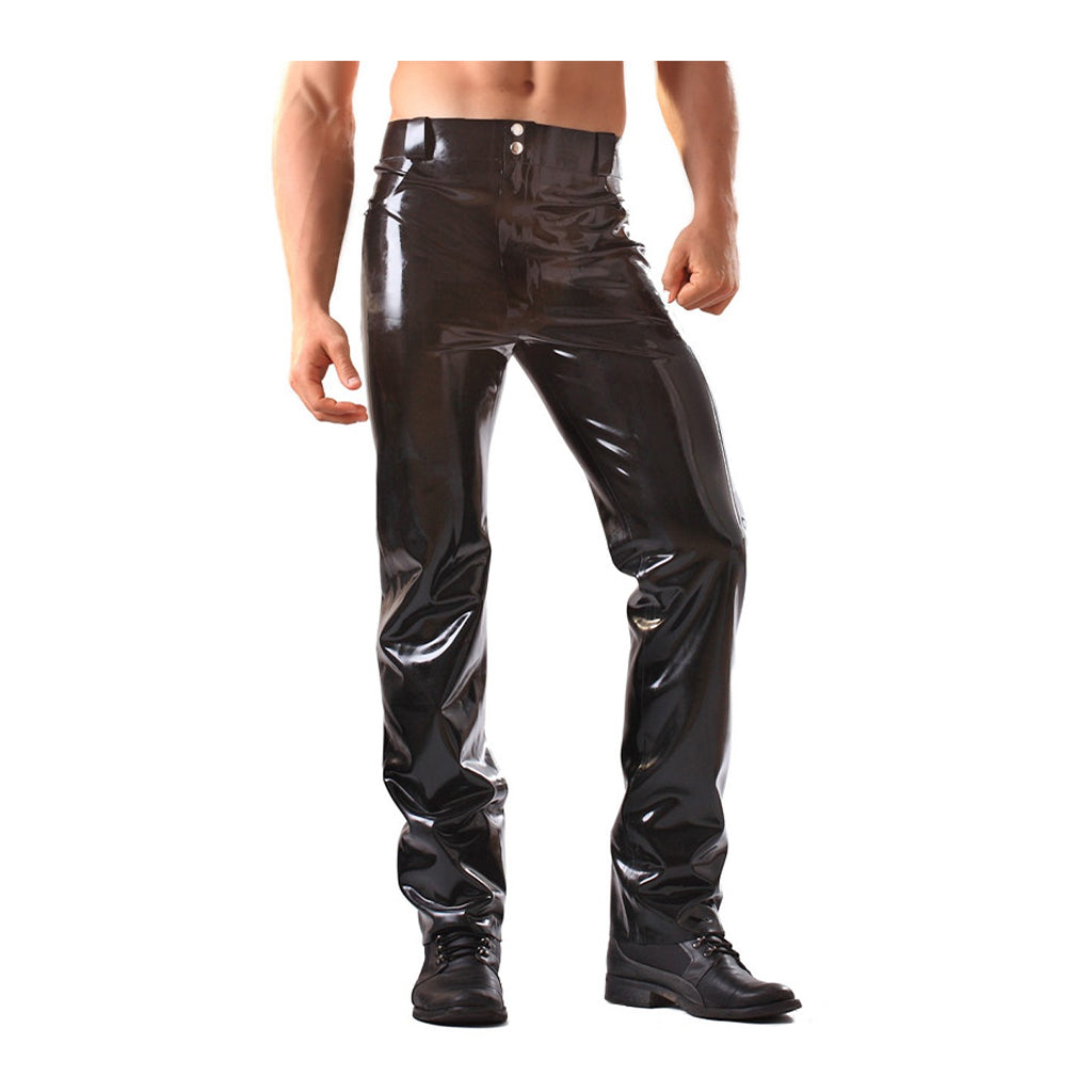 Honour Latex Jeans with Pockets