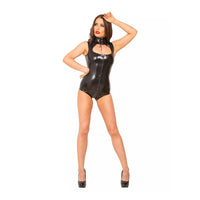 Honour Latex Keyhole Top