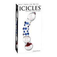 Icicles No 18 Glass Dildo Curve