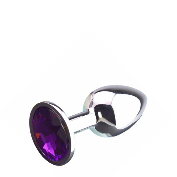 Lovetoy Jewel Butt Plug Purple