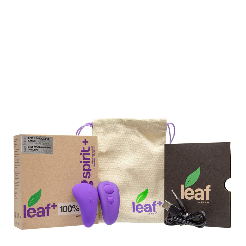 Leaf Plus Panty Vibrator with Remote Control