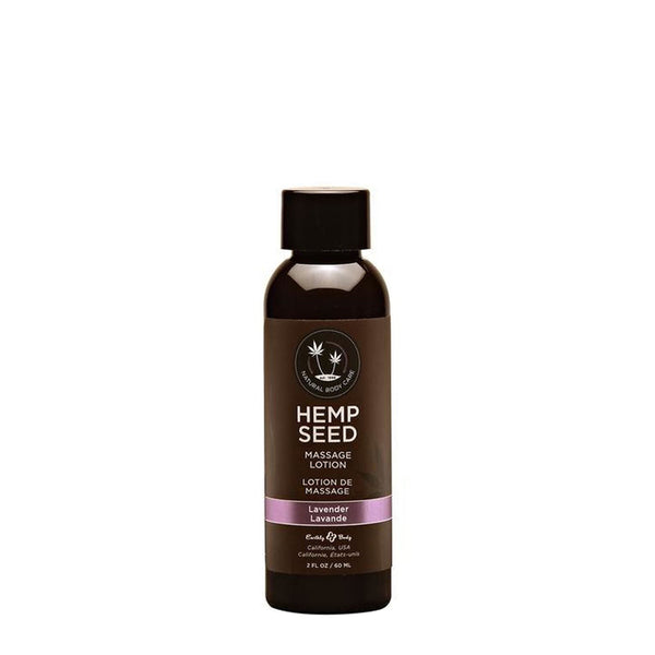 Earthly Body Hemp Seed Massage Oil Lavender 59ml