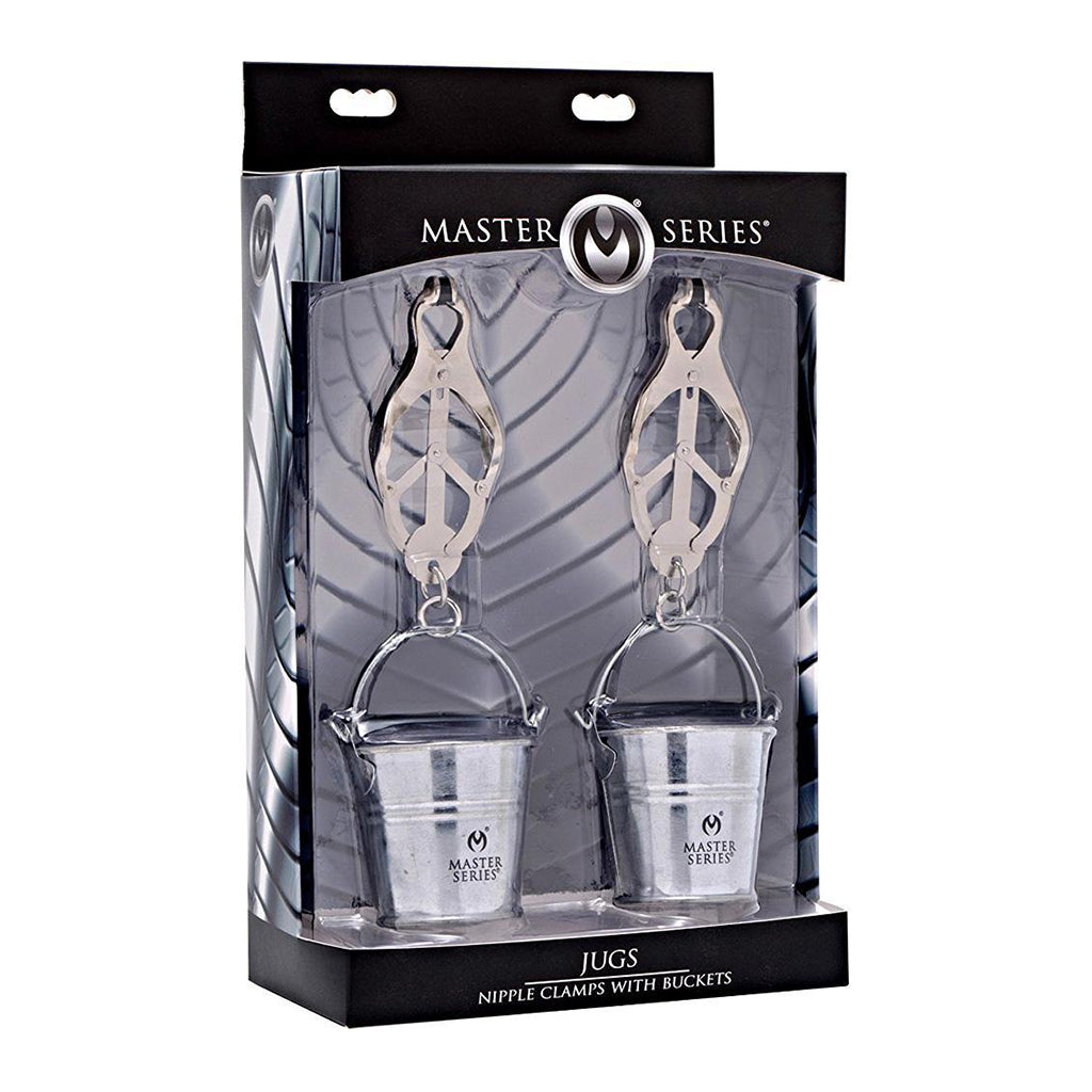 Master Series Monarch Nipple Clamps with Buckets