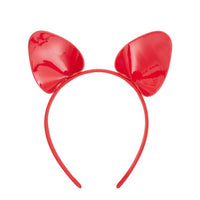 Regalia Kitten Ear Headband Red