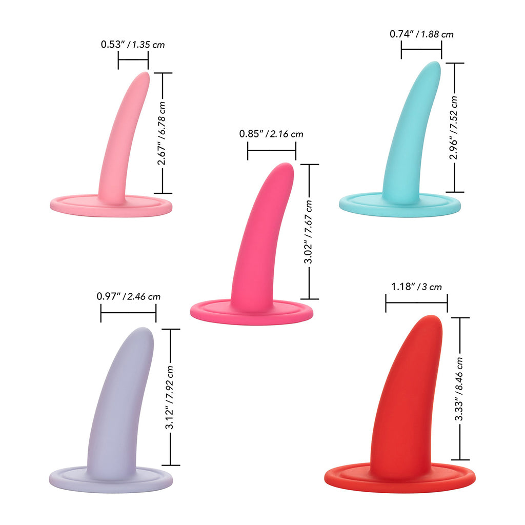 She-ology 5 Piece Wearable Vaginal Dilator Set
