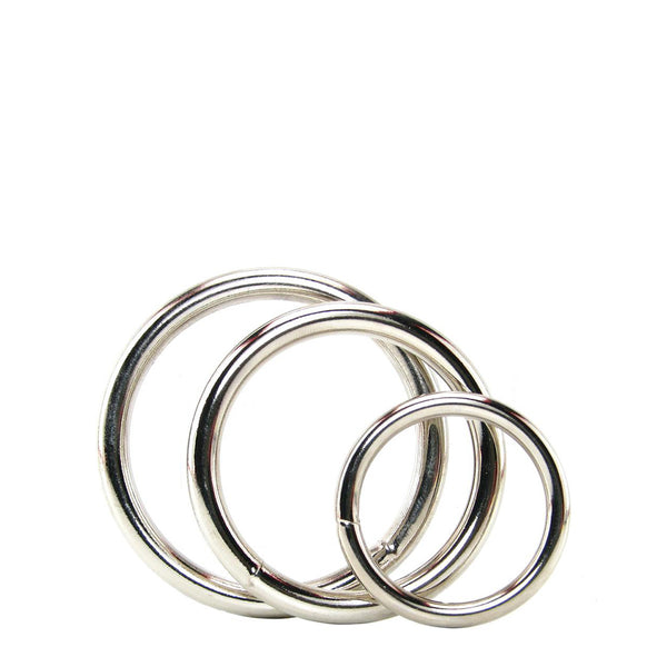 Spartacus Metal Cock Ring Set