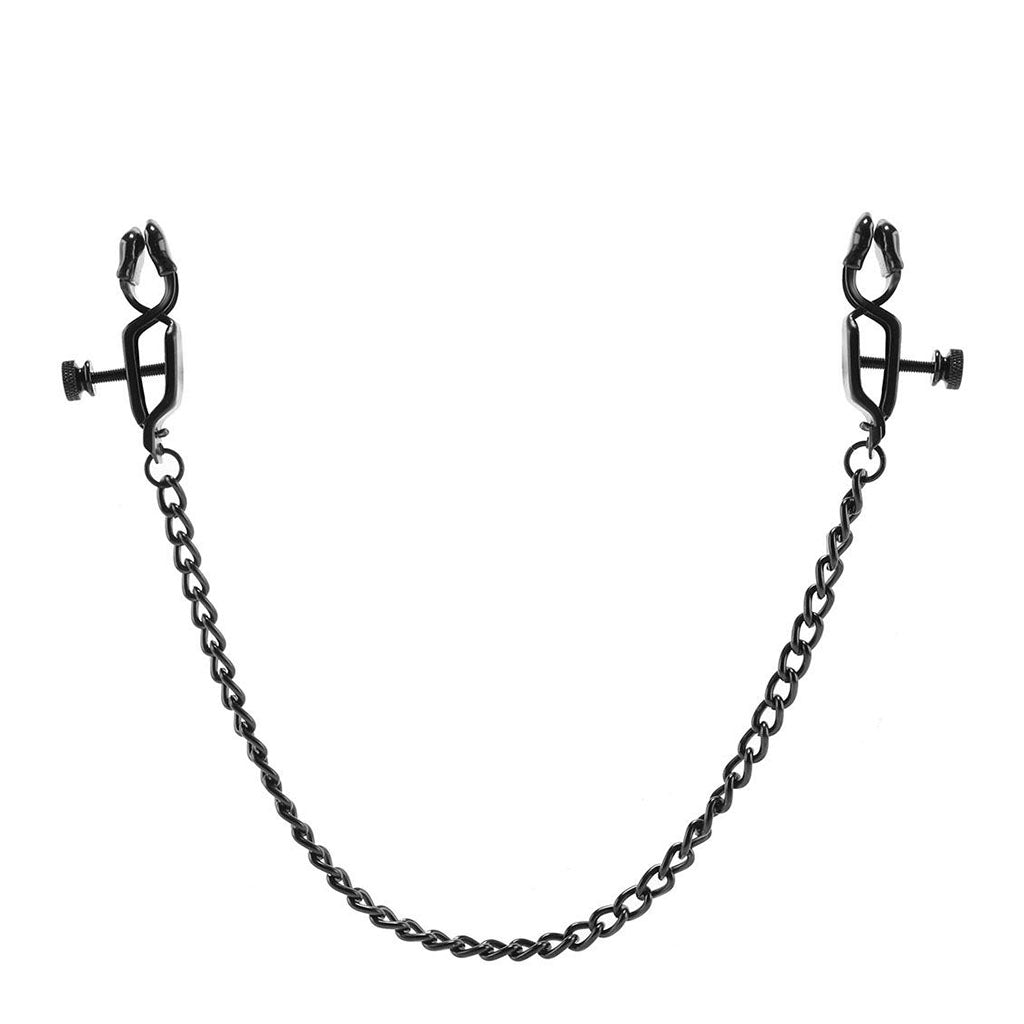Spartacus Open Press Clamp with Black Link Chain