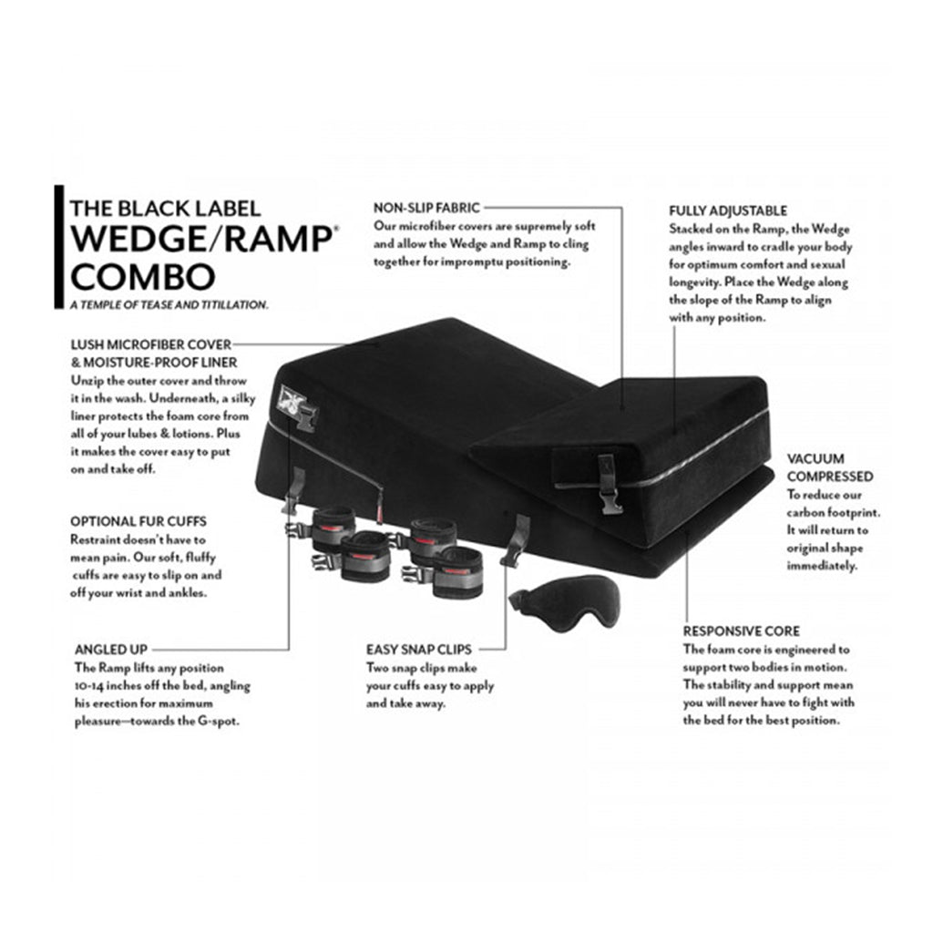 Liberator Black Label Wedge Ramp Combo