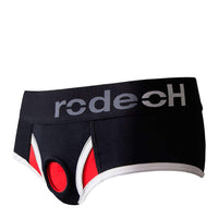 RodeoH Brief Plus Harness Black/Red