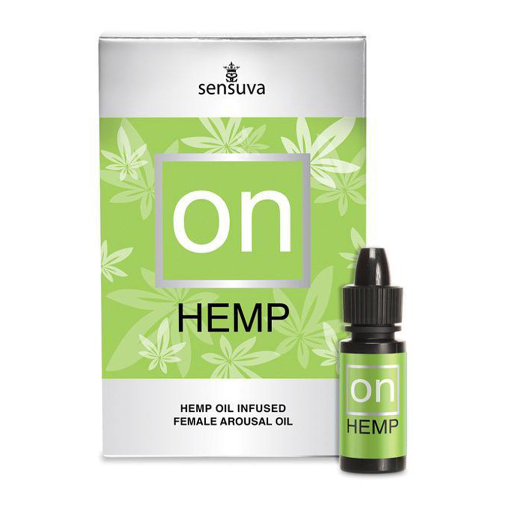 Sensuva On For Her Hemp Oil .