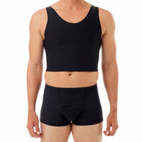 Underworks Tri-Top Chest Binder Black