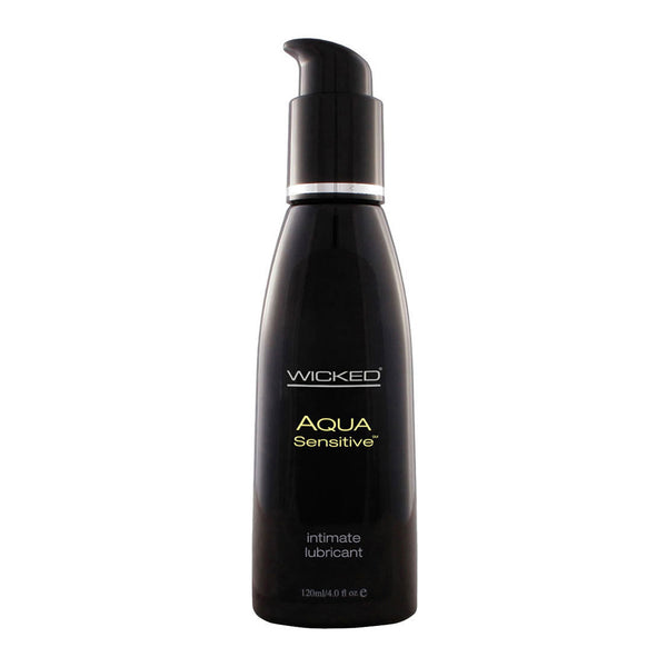 Wicked Aqua Sensitive Water Based Lubricant 120ml