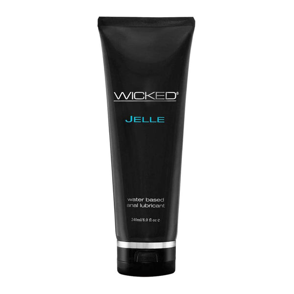 Wicked Jelle Anal Water Based Lubricant 240ml