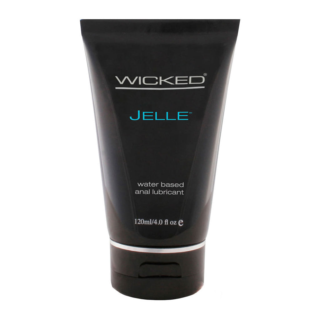 Wicked Jelle Anal Water Based Lubricant 120ml