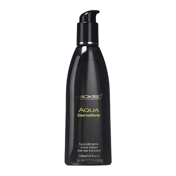 Wicked Aqua Sensitive Water Based Lubricant 240ml