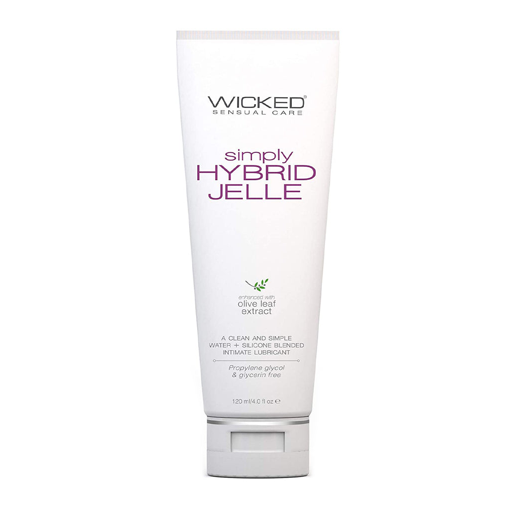 Wicked Simply Hybrid Jelle Anal Lubricant 120ml