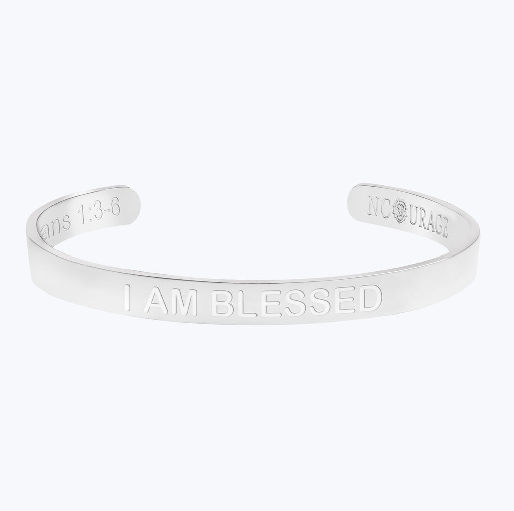 I AM BLESSED (7mm) - NCOURAGE Bands and Bracelets