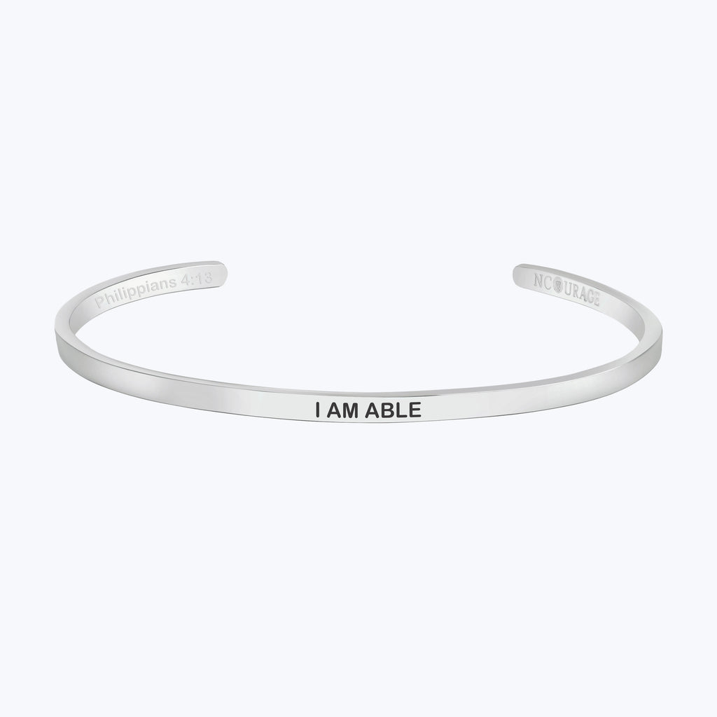 I AM ABLE - NCOURAGE Bands and Bracelets