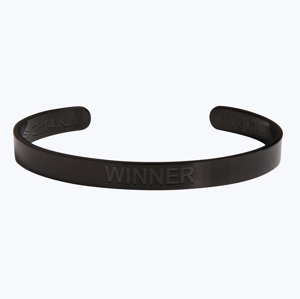 WINNER (7mm) - NCOURAGE Bands and Bracelets