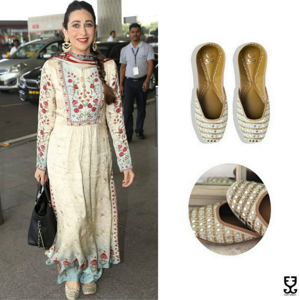 Karisma Kapoor in AISHA- IVORY & GOLD- LIMITED EDITION