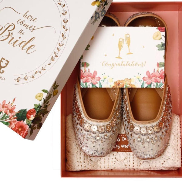 Here Comes The Bride: Bridal Shoes By FG