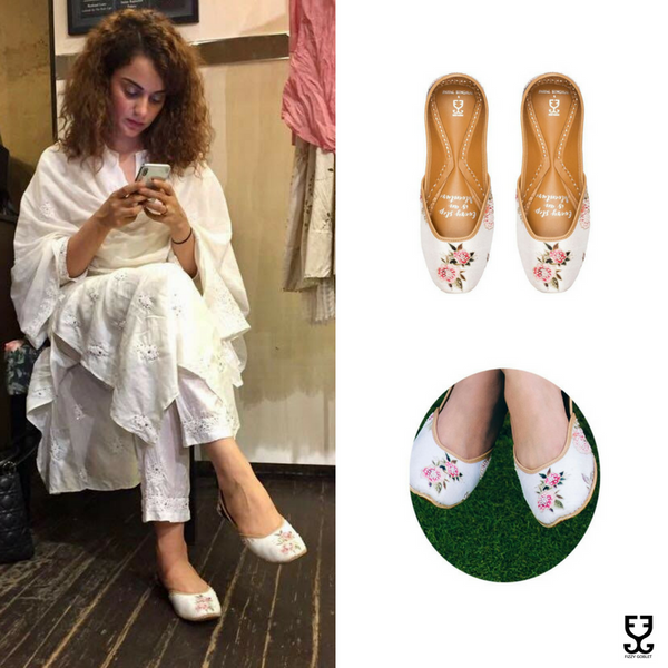 Kangana Ranaut in BELLE'S ROSE - IVORY: PAYAL SINGHAL X FIZZY GOBLET