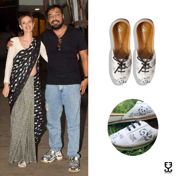 Kalki Koechlin in PANDA - SNEAKERS LIMITED EDITION