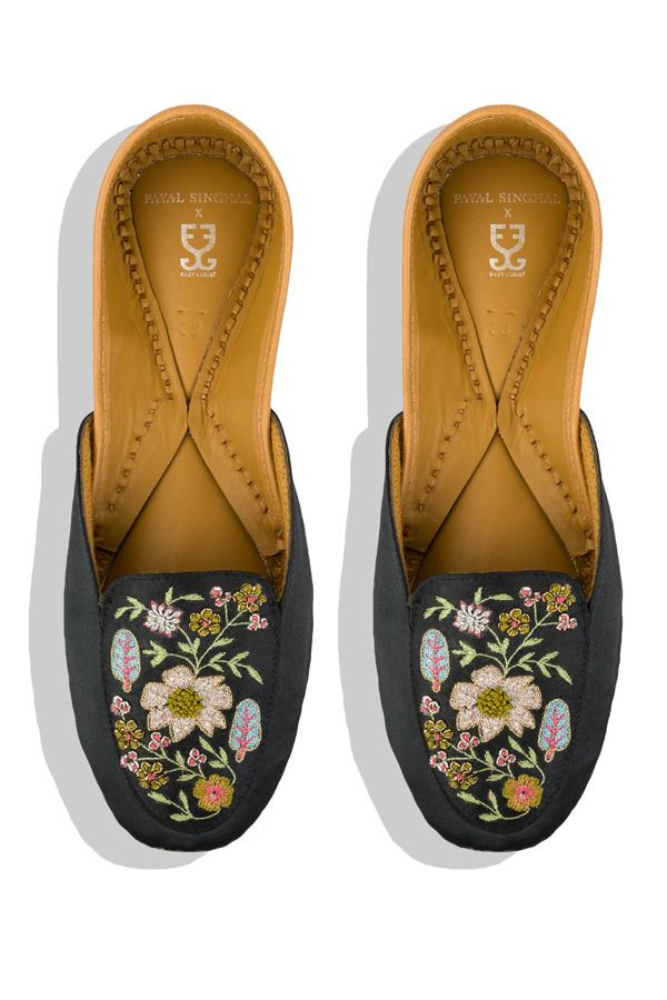 Midnight Flower Power Loafers: Payal Singhal x Fizzy Goblet