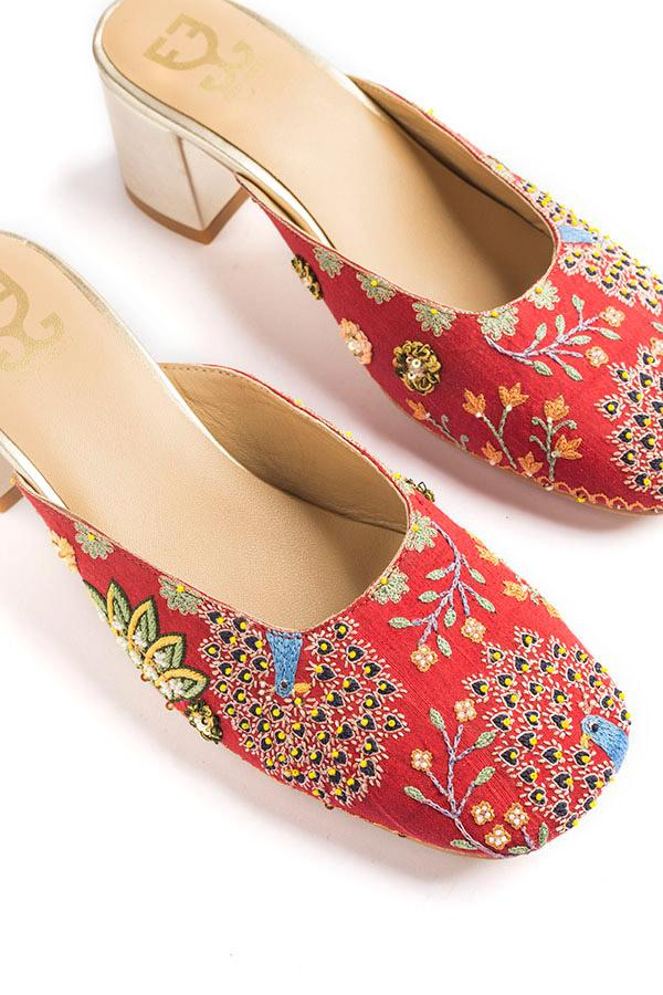 Love Nest Fizzy Heels- Limited Edition: Rahul Mishra X Fizzy Goblet