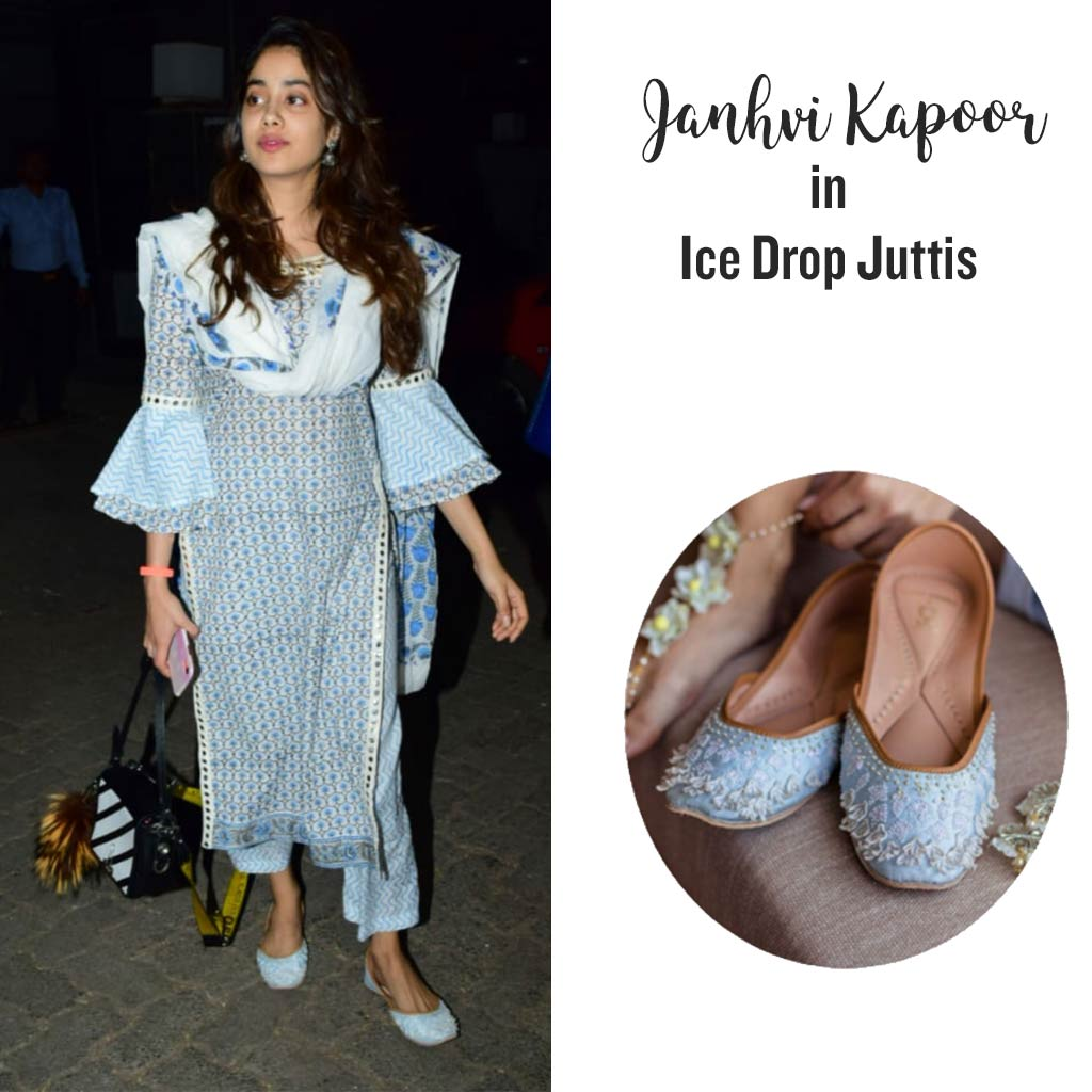Ice Drops Juttis- Limited Edition: Rahul Mishra X Fizzy Goblet