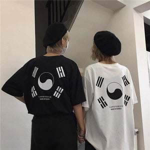 KOREAN HIGH FASHION TEE