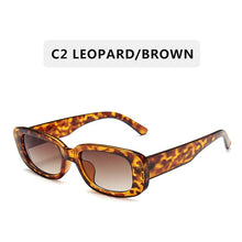 Load image into Gallery viewer, 2020 New Fashion Vintage Sunglasses Women Brand Designer Retro Sunglass Rectangle Sun Glasses Female UV400 Lens Eyewears