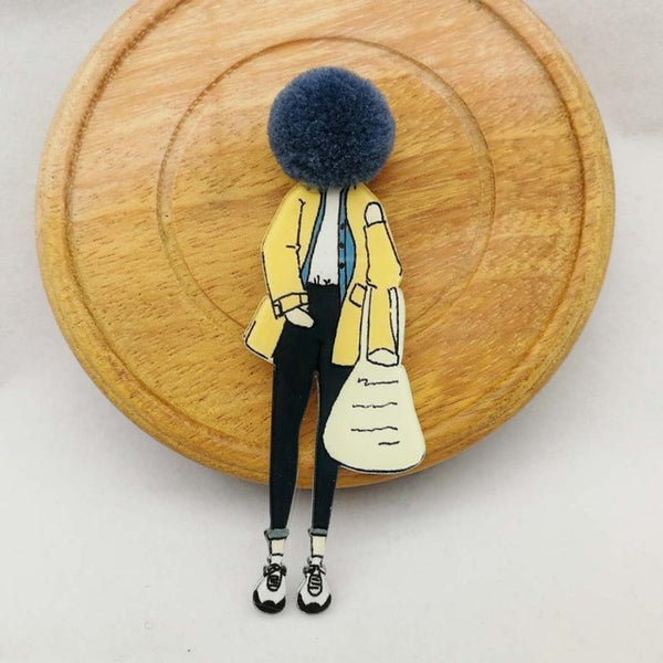 Fashion Brooch Pins Woman