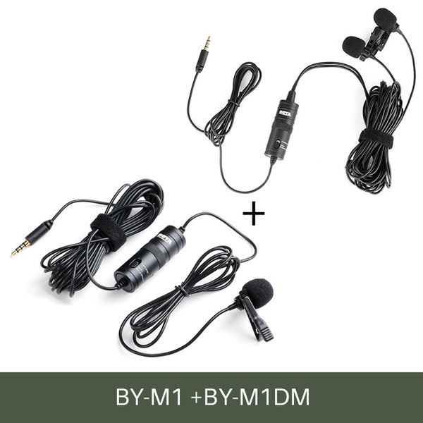 BOYA BY-M1 3.5mm Audio Video Record