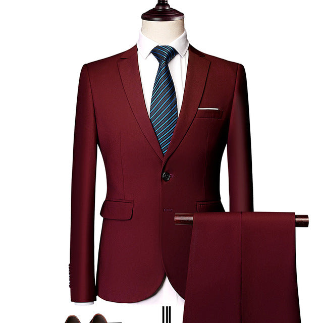 Slim Fit Suit for Men