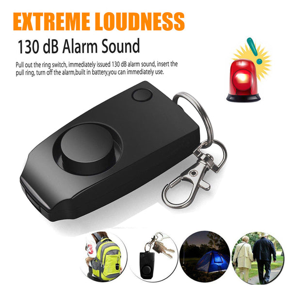 Self Defense Alarm keychain 130 dB