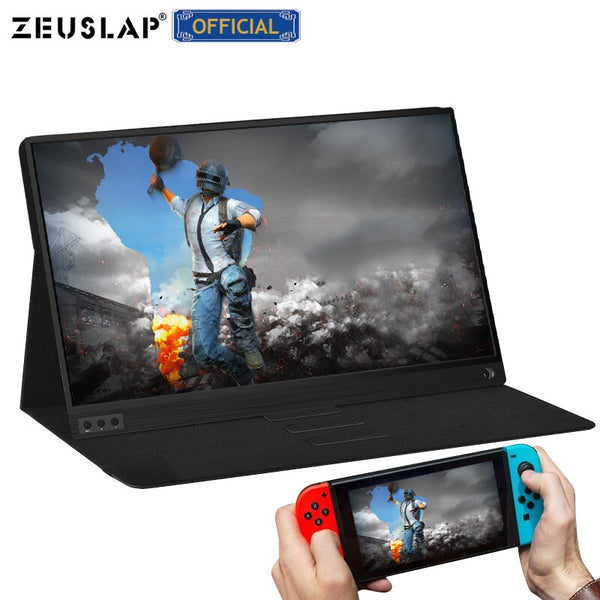 Gaming thin portable lcd hd monitor 15.6 usb type c hdmi for laptop,phone,xbox,switch and ps4 portable lcd gaming monitor