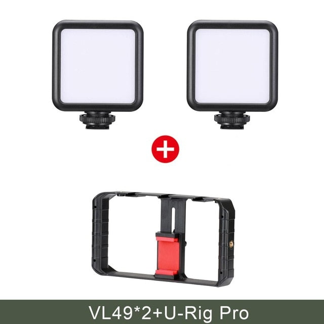 Ulanzi U-Rig Pro Smartphone Video Rig w 3 Shoe Mounts
