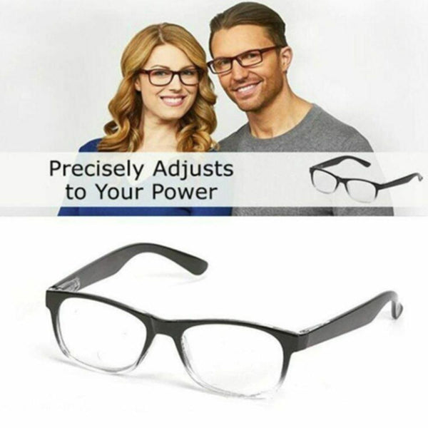 Turn Dial Adjustable Reading Glasses