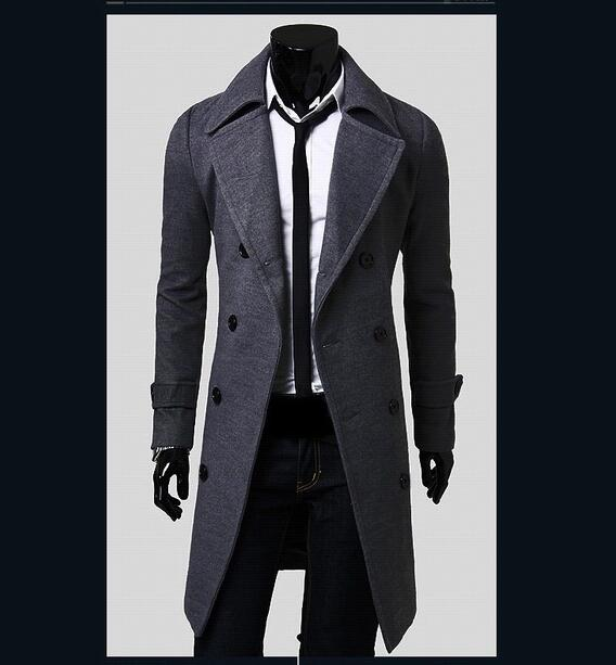European style Double Breasted Coat
