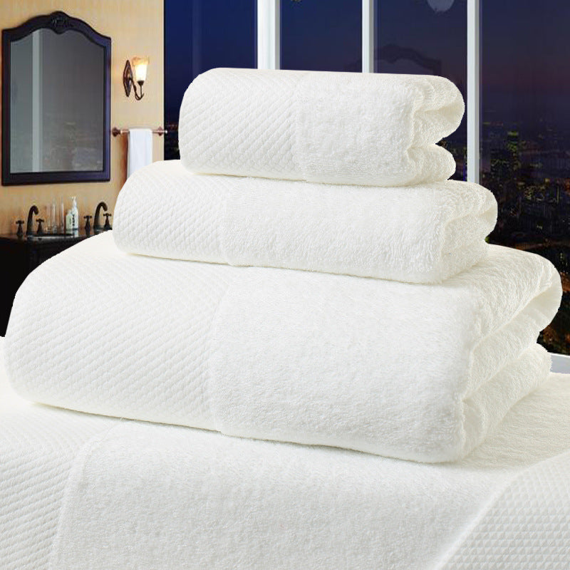 ELLE COLLECTION JACQUARD LUXURY 100% COTTON TOWELS