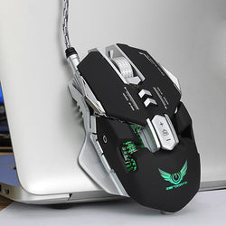 2020 G9 Gaming Mouse Wired USB DPI Adjustable Macro Programmable Mouse
