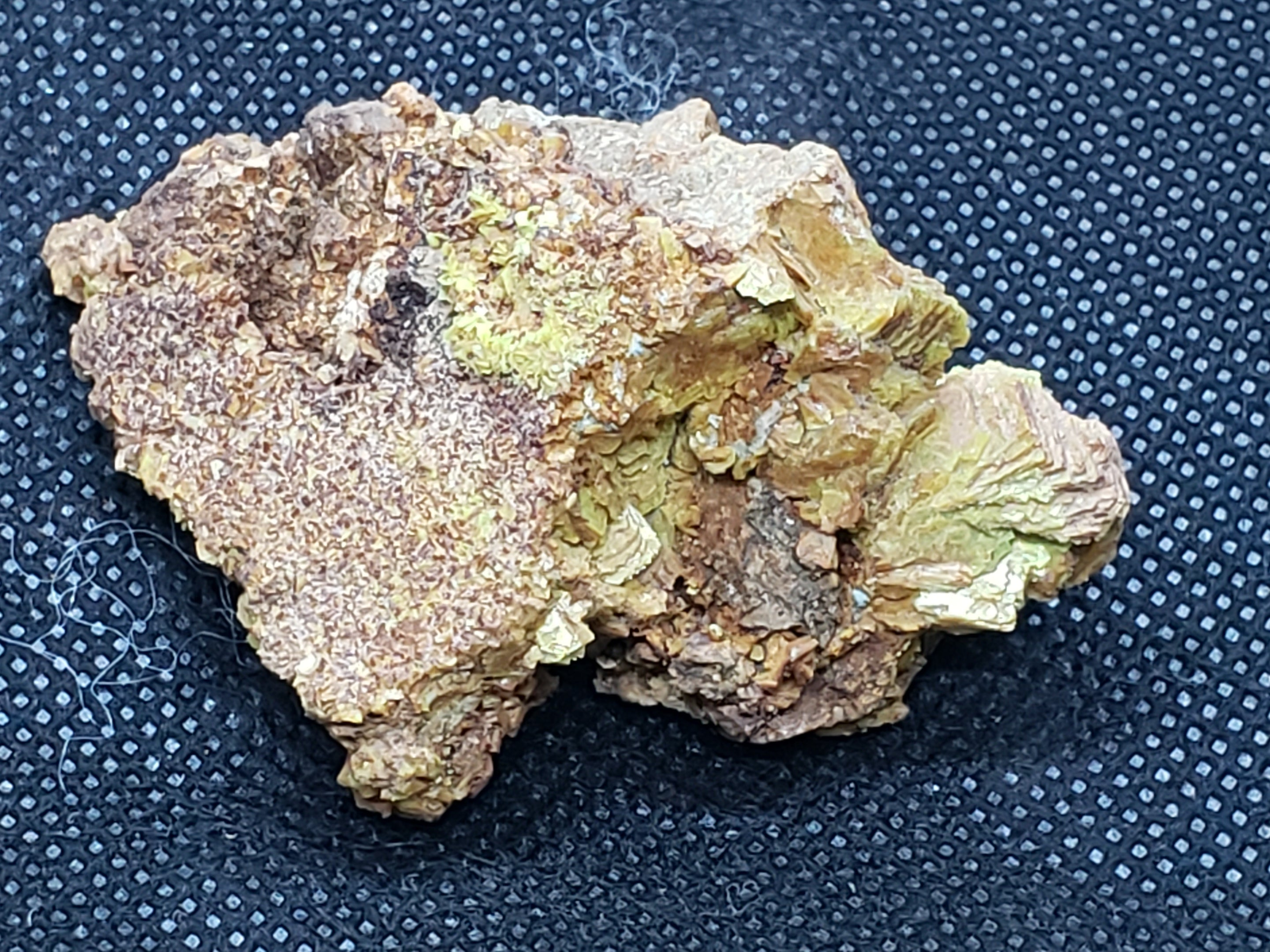 Autunite specimen