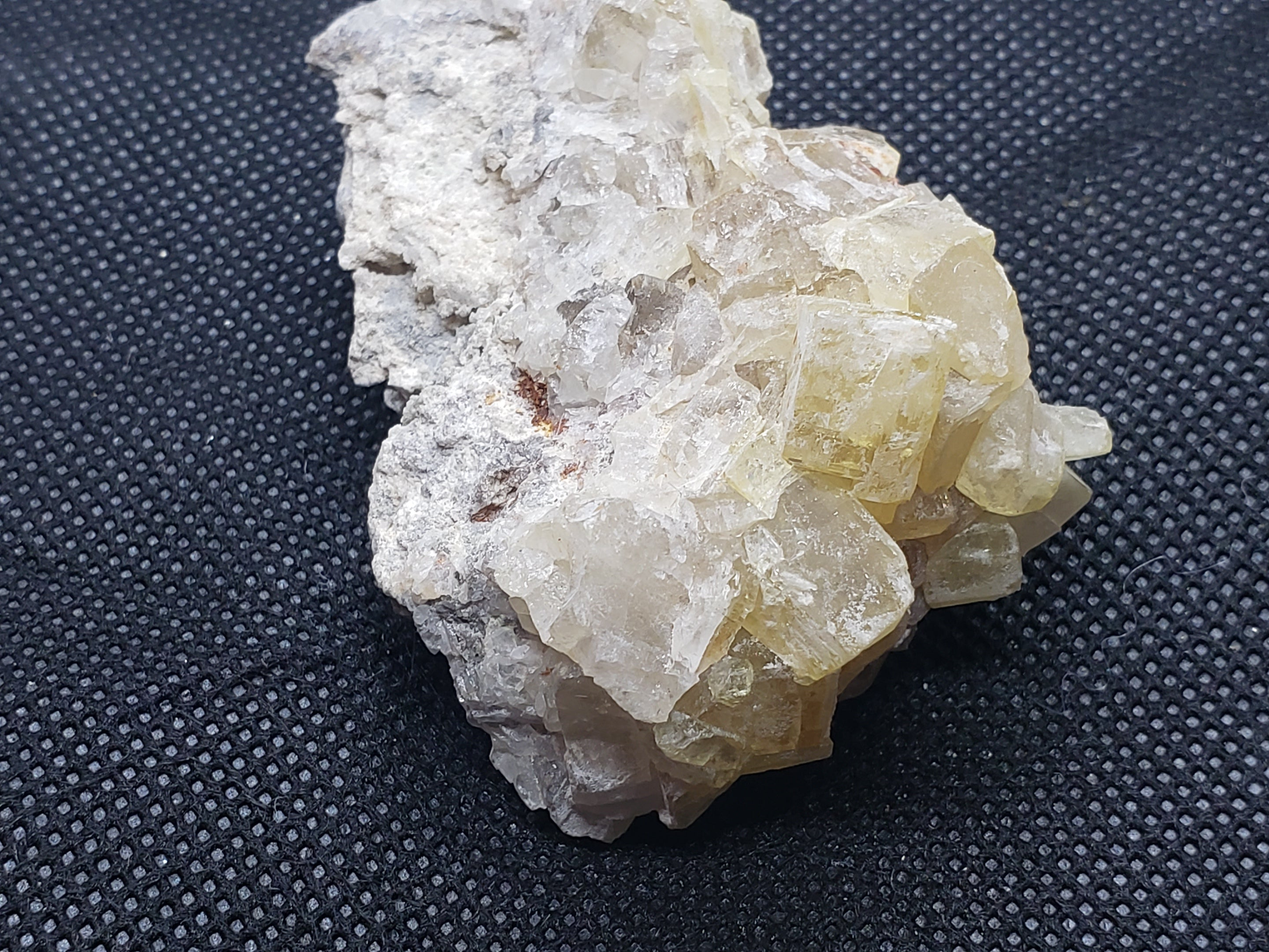 Barite from Cougar #2