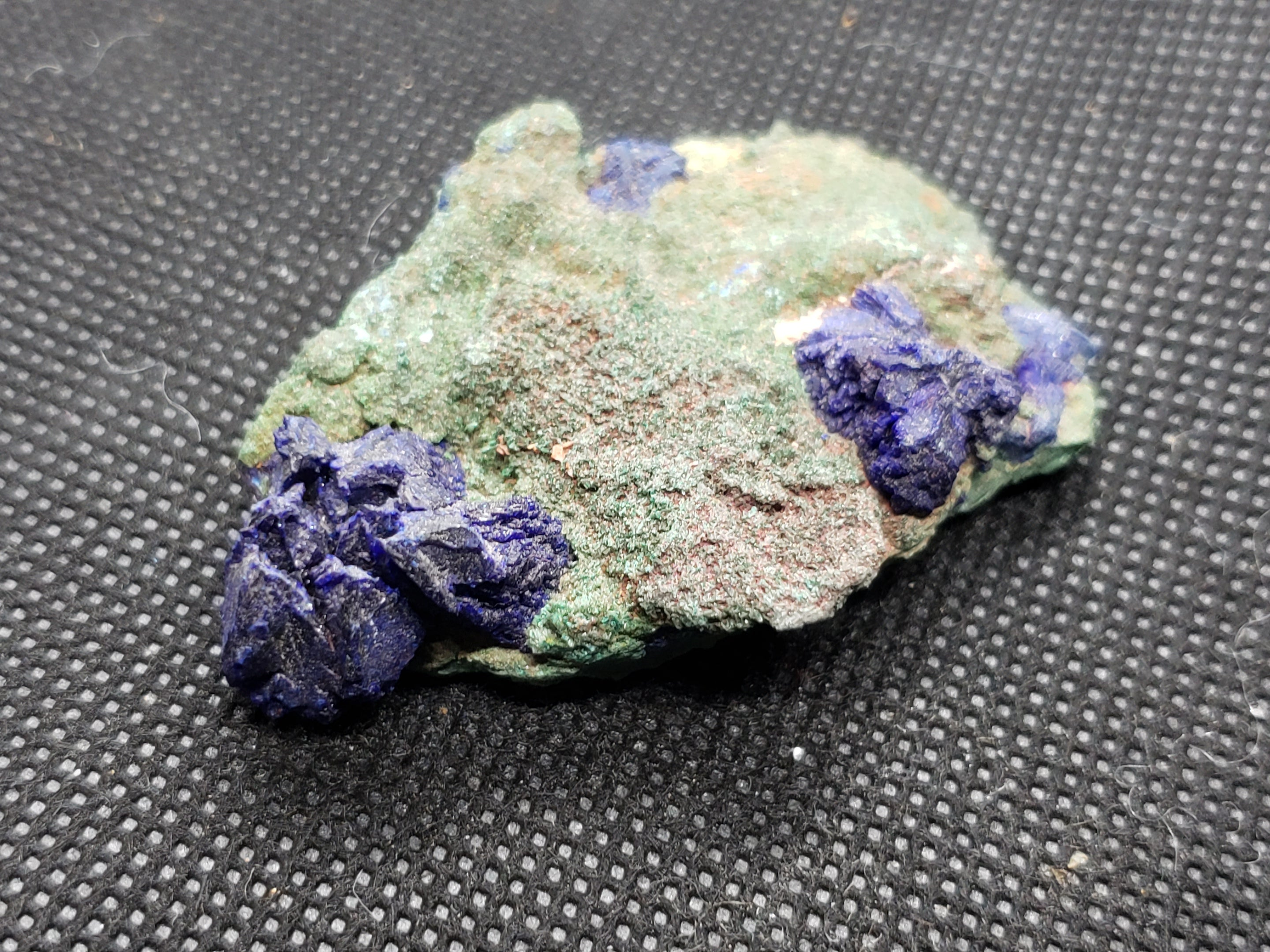 Azurite and Malachite specimen